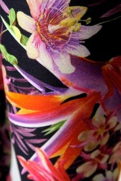 VIDA Foldaway Tote - Violet wild floral jungle by VIDA j2RYdu79iL