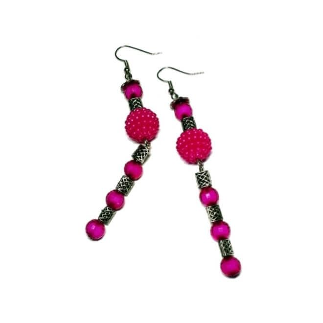 Villain Fashion | Because being awesome makes you a villain!: The Pink Devotion Earring