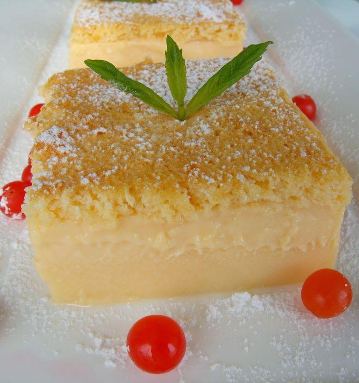 yemekyolculugu: Üç Katmanlı Kek (Sihirli Kek)