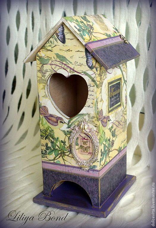 """Купить Домик для чайных пакетиков """"Treasure-3"""" - чайный домик, хранение, чай, короб, подарок"""
