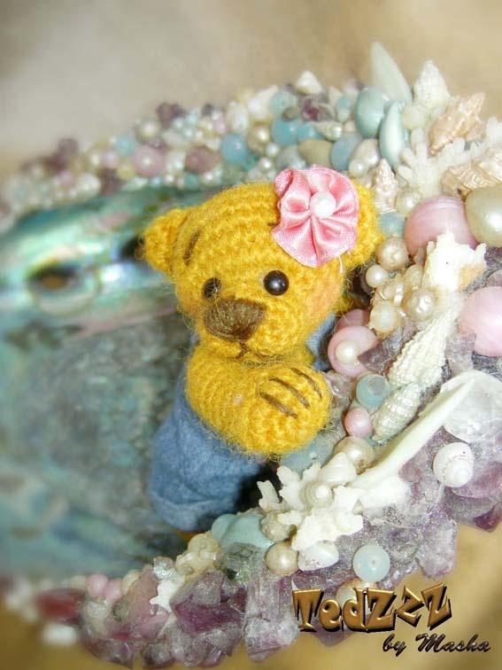 Amigurumi Tutorial Masha : Dasha - Crocheted Handmade Teddy Bear by Masha #amigurumi ...