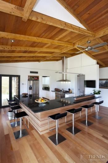 With respect to the land, environment considerate house by Scott Architects