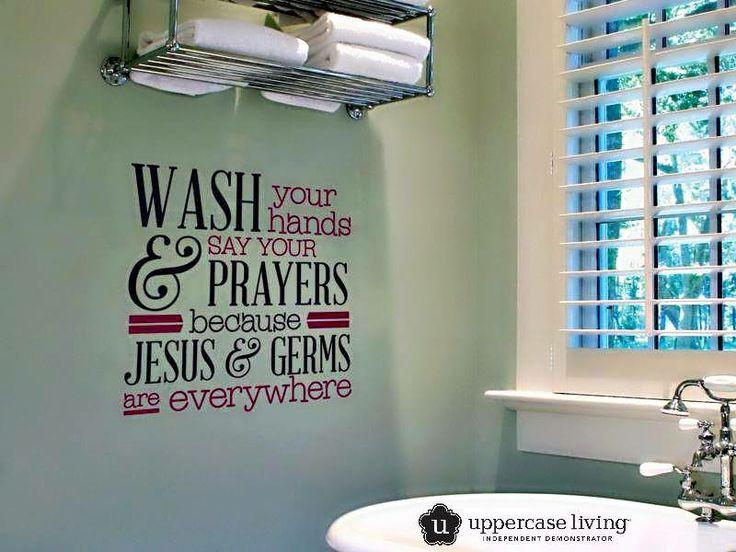 Best Uppercase Living Bathroom Images On Pinterest Vinyls - Bathroom vinyl decals