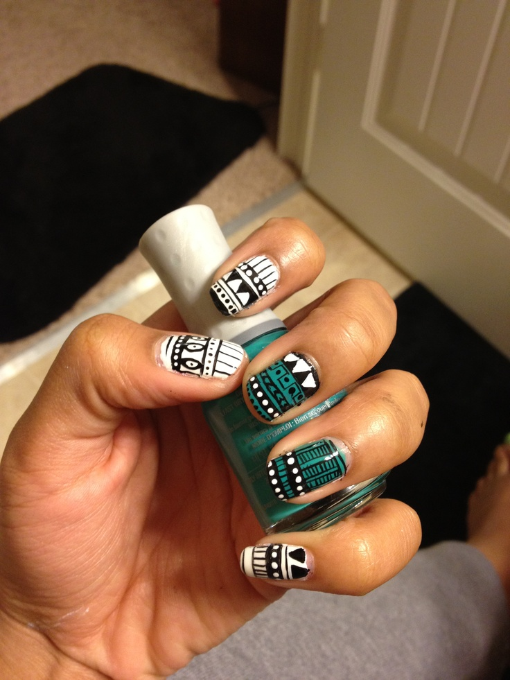 68 Best Images About Native American Nail Design On