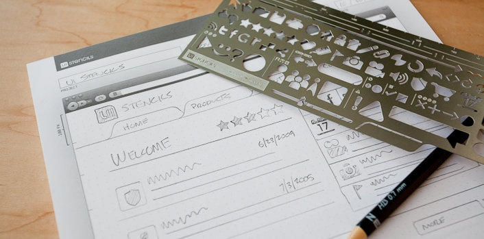 The Original Interface Stencils - Tools & Accessories for Information Architects