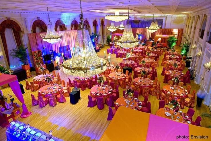 Hindu Wedding Invitations Toronto: An Indian Wedding Held In The Fairmont Royal York's