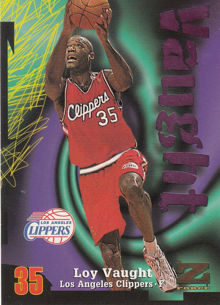 1997-98 Skybox Z-Force LOS ANGELES CLIPPERS Team Set (5) LOY VAUGHT + #LosAngelesClippers