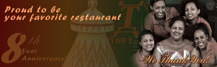 Zeni | Ethiopian Restaurant in San Jose, California - I looooove injera!!