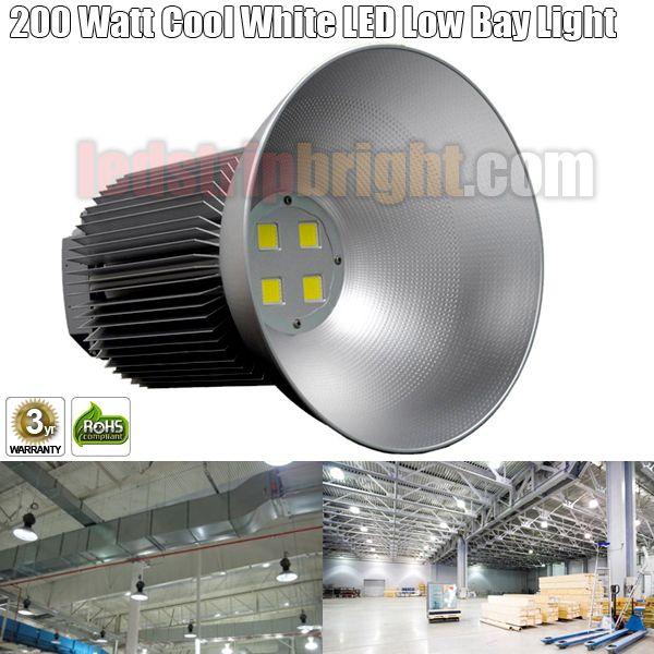 200 Watt Cool White LED High Bay Light