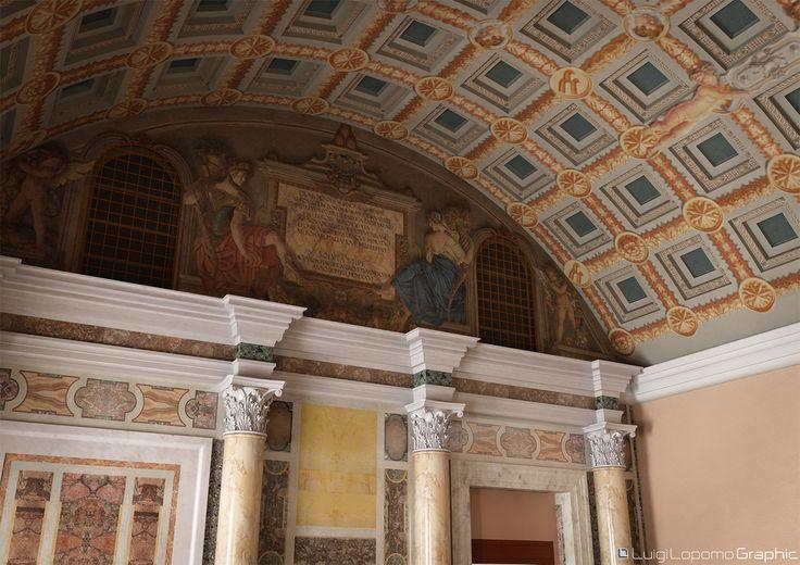 Ancient Hall 3d Reconstruction - Ceiling Detail
