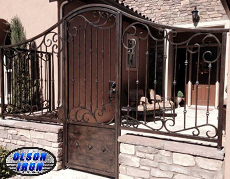 Las Vegas Iron Courtyard Entry Gates | Iron Courtyard Entries