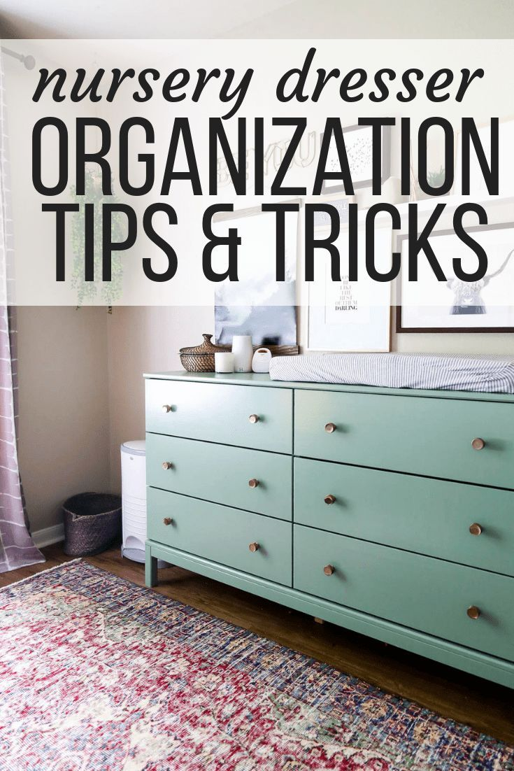 Tips for keeping an organized nursery ideas for organizing a small