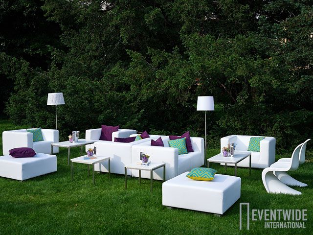 #Eventwide, #Moebelverleih, #Lounge, Sitzgarnitur White