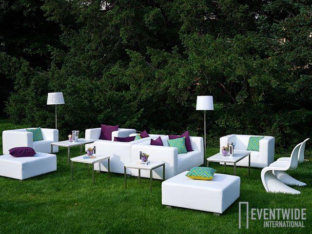 #Eventwide, #Moebelverleih, #Lounge, Sitzgarnitur White