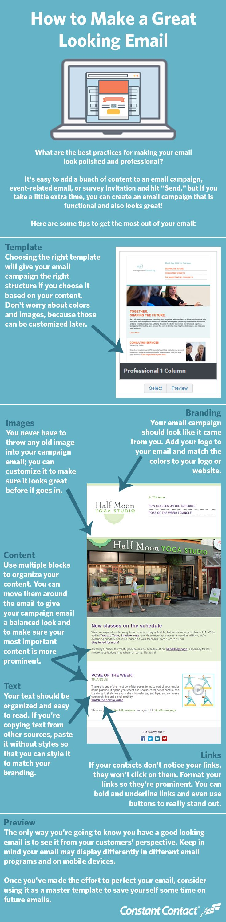 How to Make a Great Looking Email Infographic