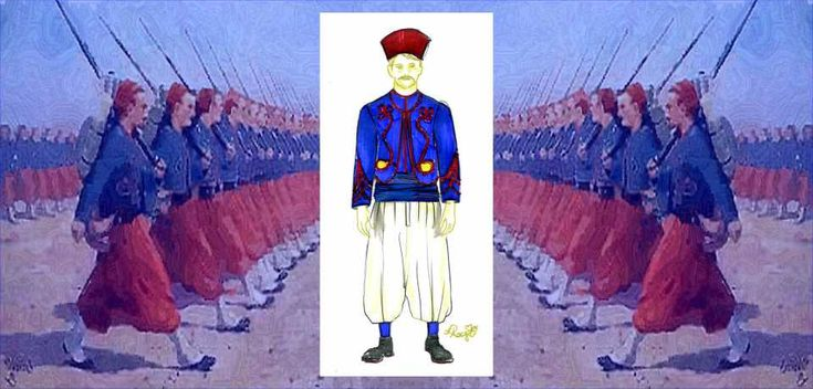 1 Illustration zouave_L. Royer