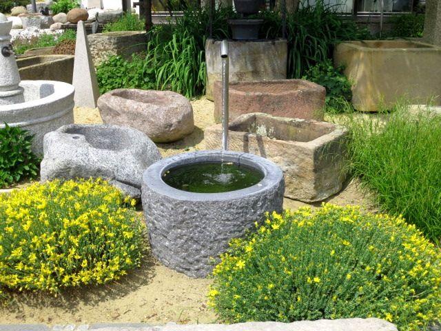 Granitbrunnen Fur Den Garten Brunnencenter Allgau Gartenbrunnen Brunnen Garten Brunnen