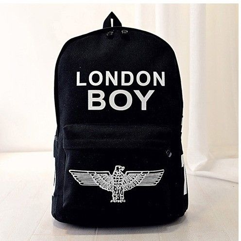 Rucsac London Boy Black