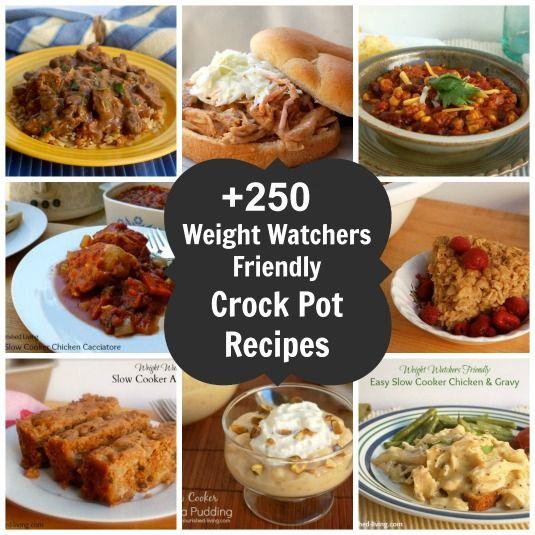 +250 Weight Watchers Crockpot Recipes eBook