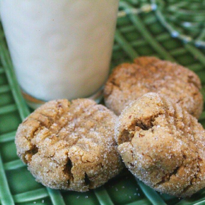 Virtually Sinless Peanut Butter Burdock Cookies