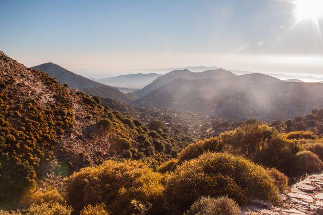 Mountain - Landscape - Zeus - Naxos - Greece