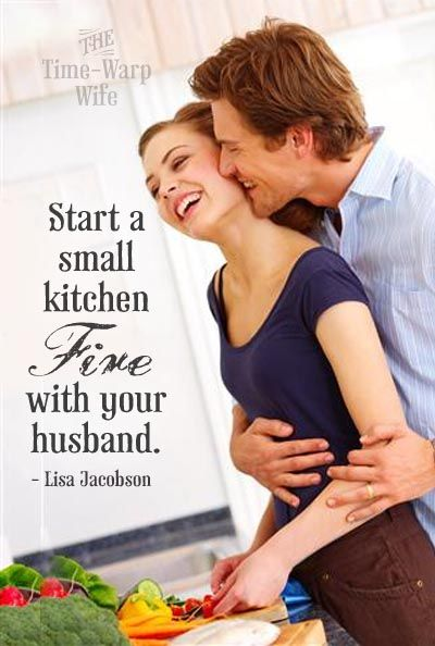How to Start a Small Kitchen Fire - Time-Warp Wife | Time-Warp Wife