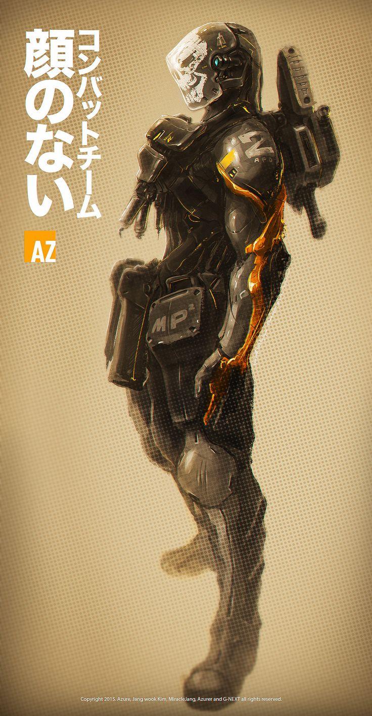 ArtStation - Ghost troopers, Jang wook Kim