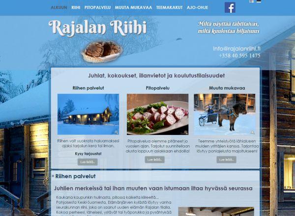 Rajalan Riihen verkkosivut. http://www.teamprog.fi/
