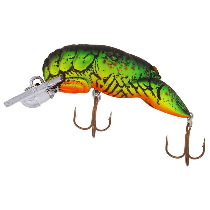 Rebel teeny wee crawfish hard baits shallow diving for Rebel fishing lures