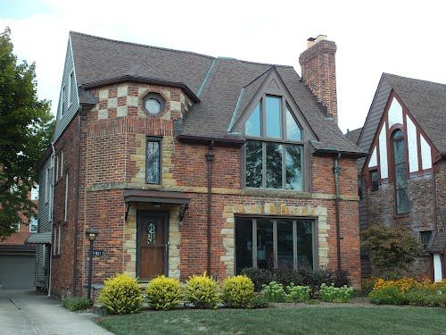 17 best images about brick tudors on pinterest home for Tudor style homes for sale