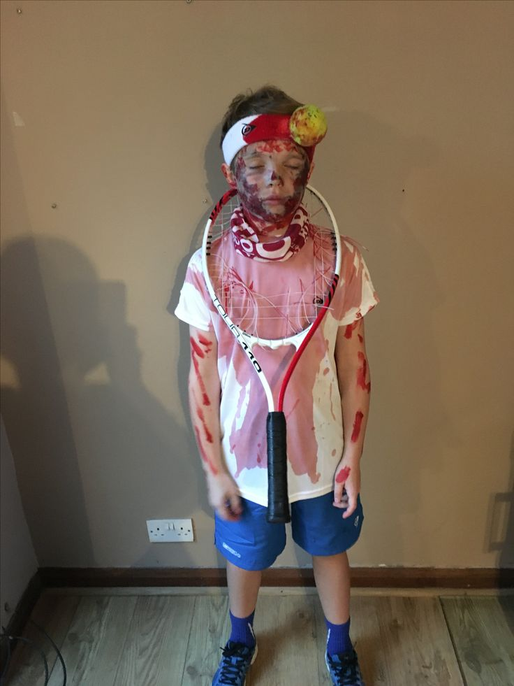 Zombie Tennis Player  Trick Or Treat In 2019  Costumes -9711