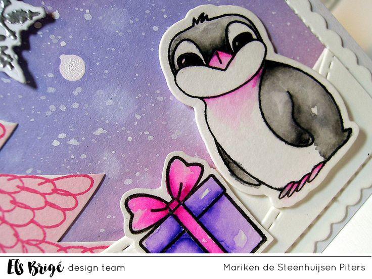 Knusse kerst door Mariken de Steenhuijsen Piters voor Els Brigé design