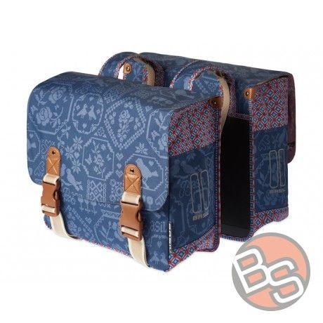 Sakwa miejska podwójna BASIL Boheme Double Bag 35L