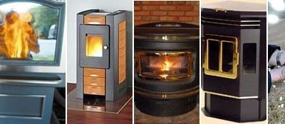 Pellet stoves are extremely efficient, produce little waste and use inexpensive fuel, so they've become increasingly popular in the face of rising natural gas and heating oil prices. As the temperatures dip and you put on a sweater, take a look at some
