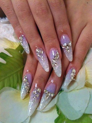 111 Best Crystal Nails Images On Pinterest