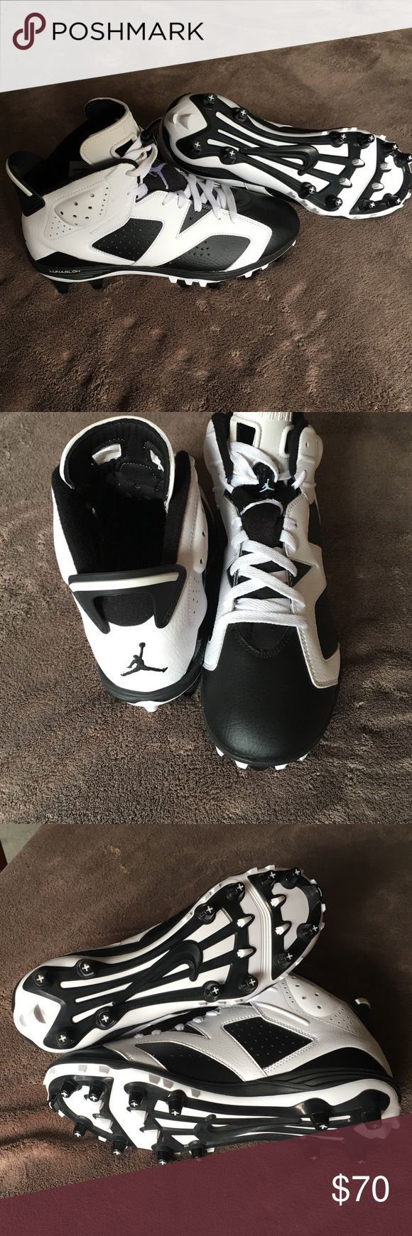 Jordan 6 Football cleats Jordan 6 football cleats. Never worn but no box Air Jordan Shoes Athletic Shoes