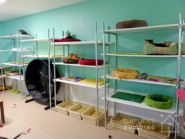 how to build adjustable shelves