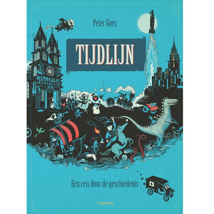 Tijdlijn is een boek met super mooie tekeningen over de wereldgeschiedenis! 18,86