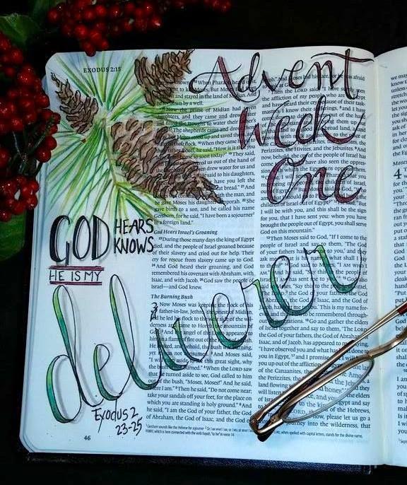 Advent   Exodus 2 23 25   God is my deliverer  credit to J Saulsberry  FB