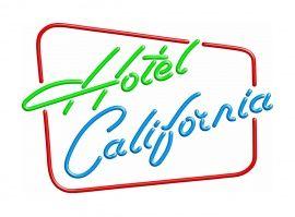 Neon retro sign - Hotel California | NEON lights - verlichting | Design meubels, Retro verlichting & cadeaushop, Space Age new vintage