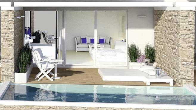 Insula Alba Resort & Spa, Heraklion, Crete, Greece. New Summer 2015. 5*. Swim-Up Rooms/Private Pools