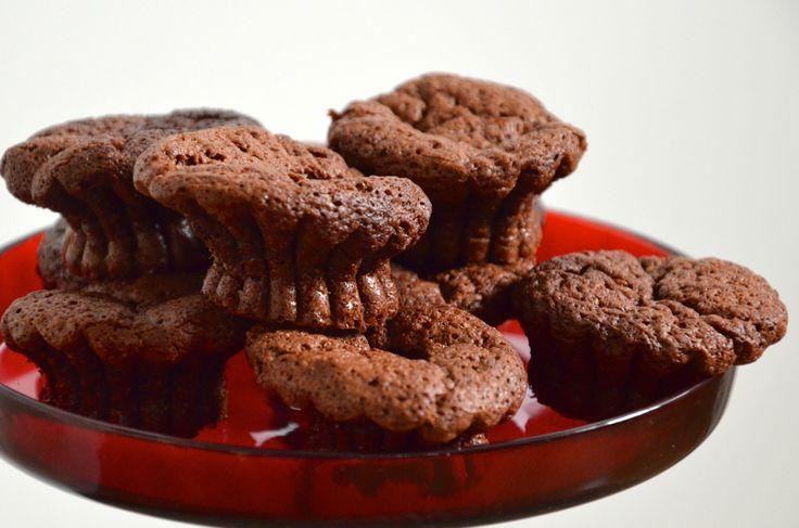 Čokoládové koláčky #Čokoláda, #Jemné, #Nadýchané, #Pečení, #Recept, #Sladké, #Vláčné, #Vůně