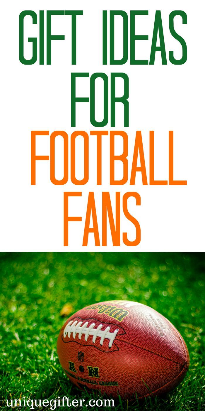 20 Gift Ideas For Football Fans Unique Gifter Gifts For Football Fans Birthday Presents For Men Football Christmas Gifts