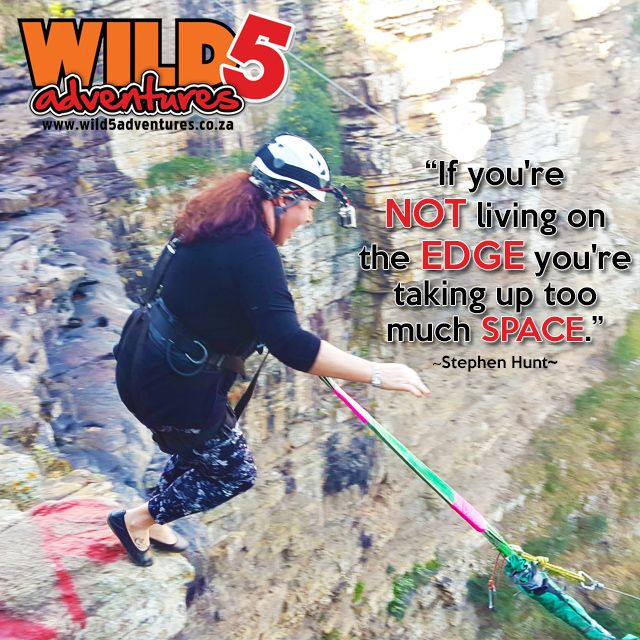 Sometimes all it takes, is a leap of faith! This quote makes us realize that… #Likeandshare if you agree! #LivingOnTheEdge #LeapOfFaith
