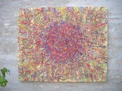 """"""" Supernova"""" cuadro texturado para exteriores  2m x  1, 60m"""