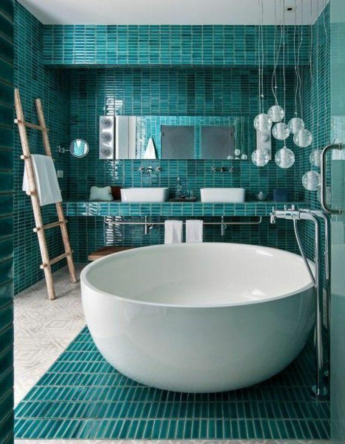 Les 25 meilleures idées de la catégorie Salle de bain turquoise ...