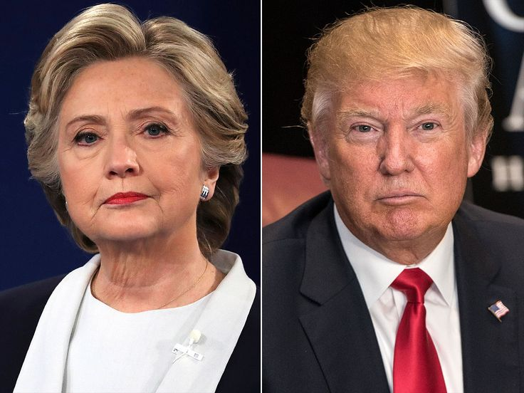 nice Hillary Clinton and Donald Trump Face Off As soon as Extra -- On Twitter This Time