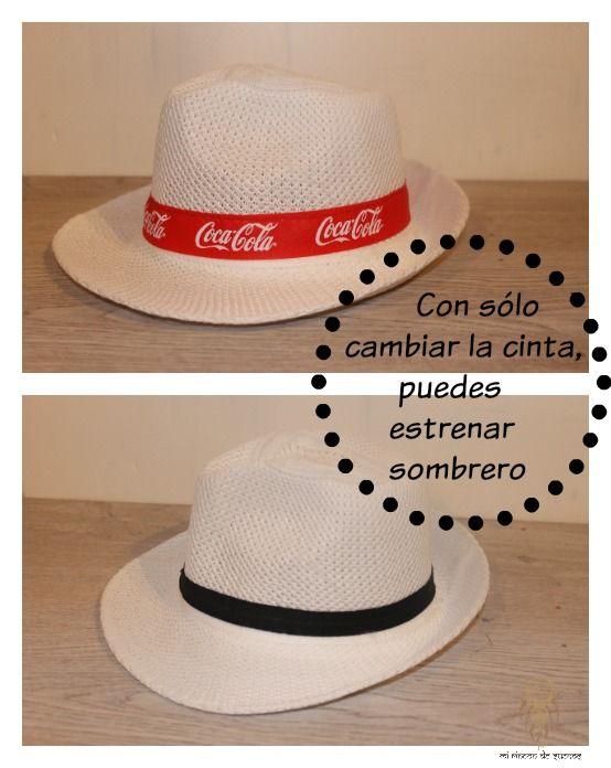 MI RINCÓN DE SUEÑOS: DIY Transformar un sombrero de publicidad