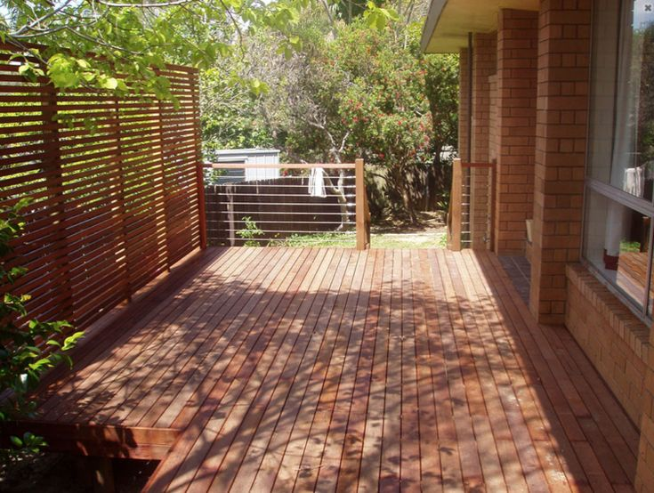 Timber screens are a stylish solution to bring privacy to your outdoor spaces without blocking light.