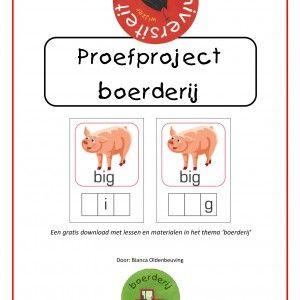 Bianca Oldenbeuving van Lespakketmaakte een prachtig boerderij project. Daarnaast maakte ze dit gratis proefproject met drie lessen én bijl...